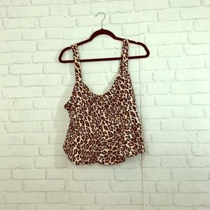 Forever 21 cheetah print top size 3X!